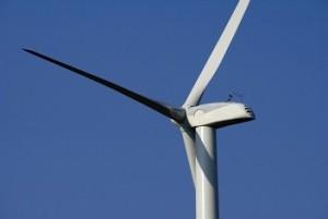 rotorbladen van een windmolen