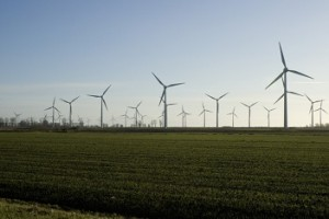 windmolenpark op land