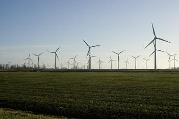 windmolenpark op land