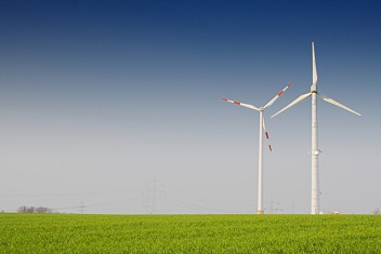 windmolens in weiland