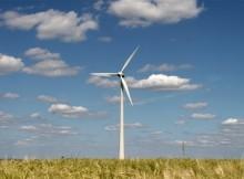 windturbine op het land